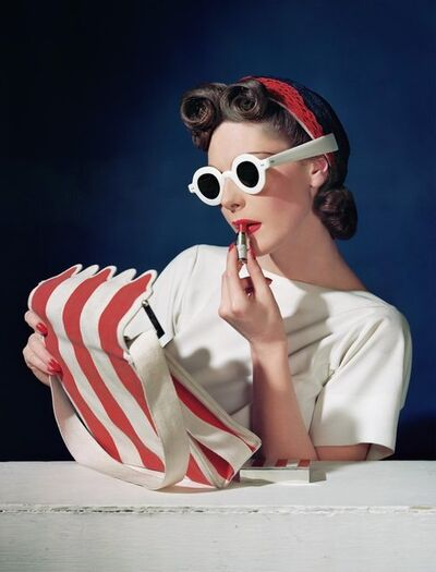 Horst P. Horst, 'Muriel Maxwell, Ensemble Sally Victor, Bag Paul Flato, Sunglasses Lugene, 1939', 1939