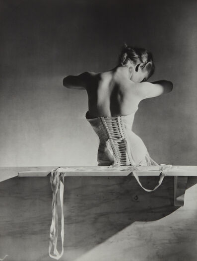 Horst P. Horst, 'Mainbocher Corset, Paris', 1939-printed later