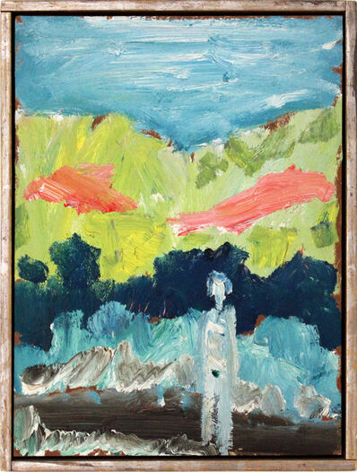 Nanno de Groot, 'Figure in a Landscape', 20th Century
