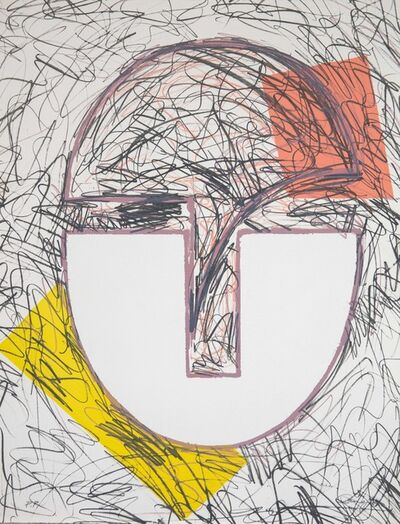 Rafael Canogar, 'Máscara (Mask)', 1983