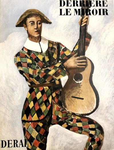 André Derain, 'Arlequin à la guitare', 1958