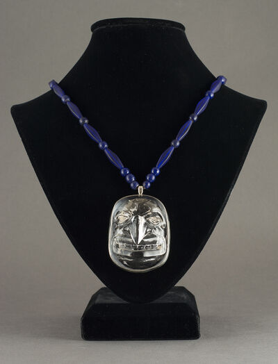 Preston Singletary, 'Hawk Mask Glass Pendant', 2015