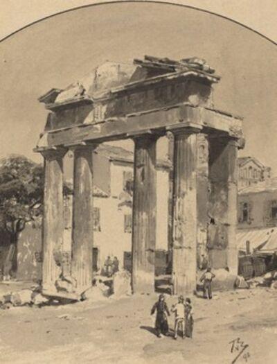 Themistocles von Eckenbrecher, 'Old Market Gate', 1890
