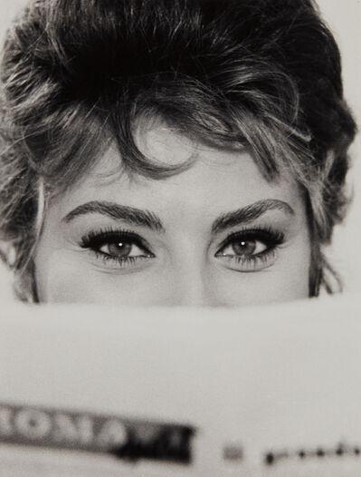Alfred Eisenstaedt, 'Sophia Loren, Rome', 1961-printed later