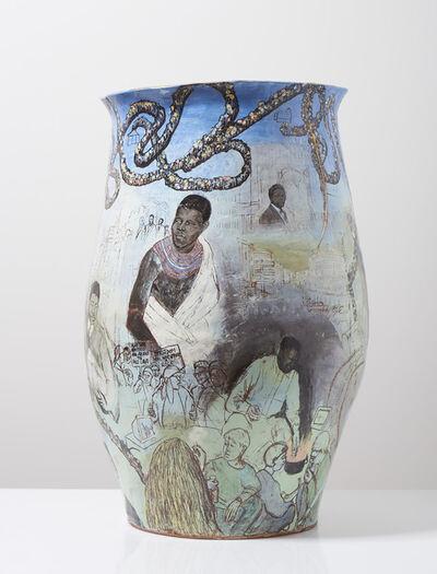 Claudia Clare (b.1962), 'Remembering Nelson Mandela', 2015