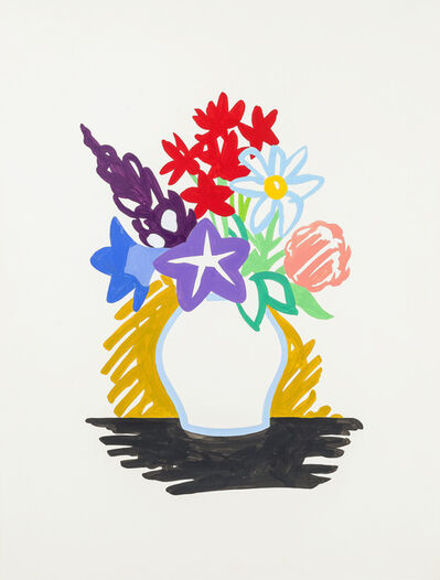 Tom Wesselmann, 'Study for Mixed Bouquet', 1991