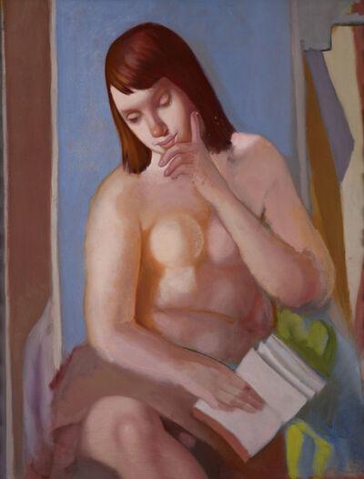 Tamara de Lempicka, 'Nu au livre', ca. 1958