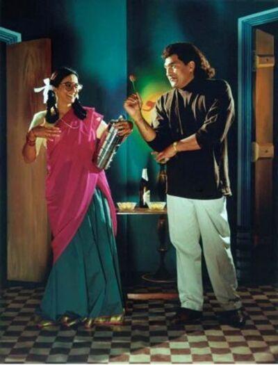 Pushpamala N., 'The Native Types - Flirting', 2006