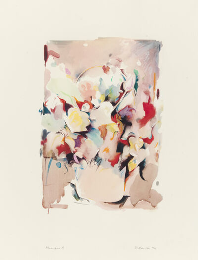 Richard Hamilton, 'Flower piece A', 1974