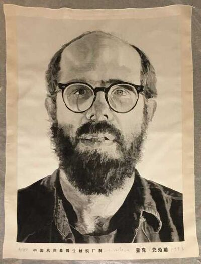 Chuck Close, 'Self Portrait', 1993