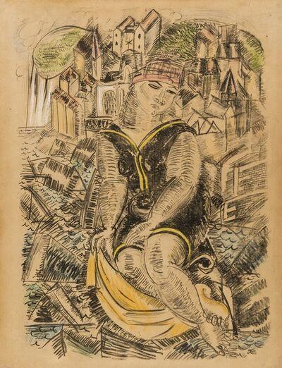 Raoul Dufy, 'La Grande Baigneuse', 1925