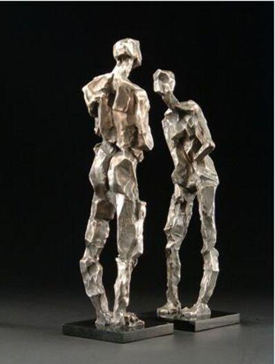 Gail Folwell, 'Tete a Tete [Think] 4/9', 2014