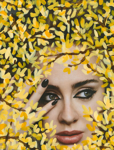 Michael De Feo, ''Untitled' (Adele by Alasdair McLellan for  i-D, Winter 2015, Yellow)'