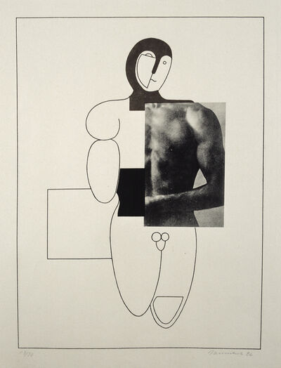 Willi Baumeister, 'Boxer', 1926
