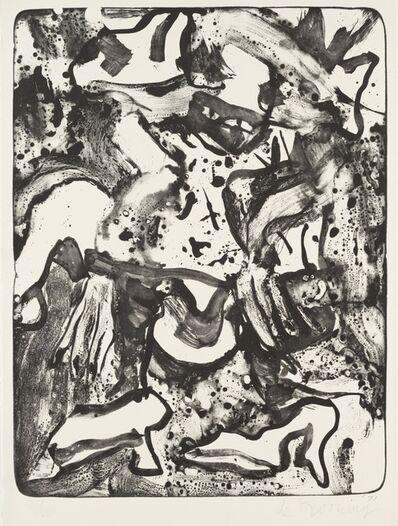 Willem de Kooning, 'Minnie Mouse', 1971