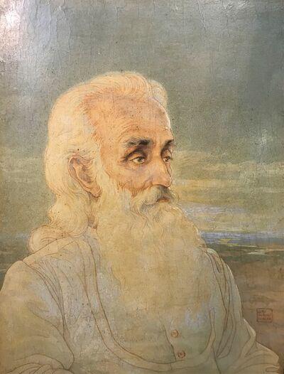 Boris Georgiev, 'Portrait of Rabindranath Tagore', ca. 1920