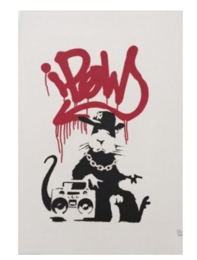 Banksy, 'Gangsta Rat', 2003