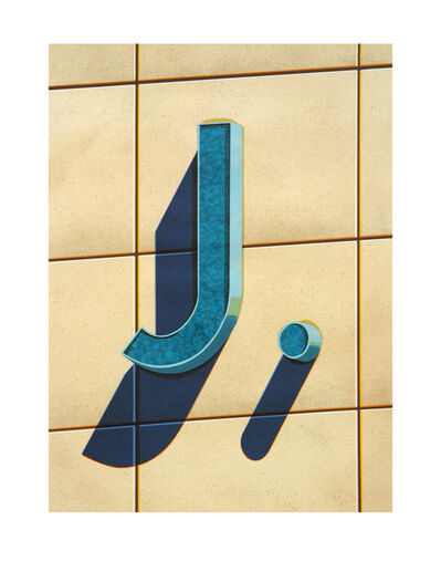 Robert Cottingham, 'An American Alphabet: J', 2003