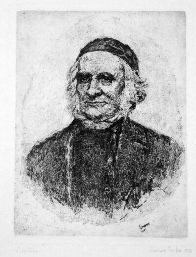 James Ensor, 'Portrait of Elias Frise', 1886