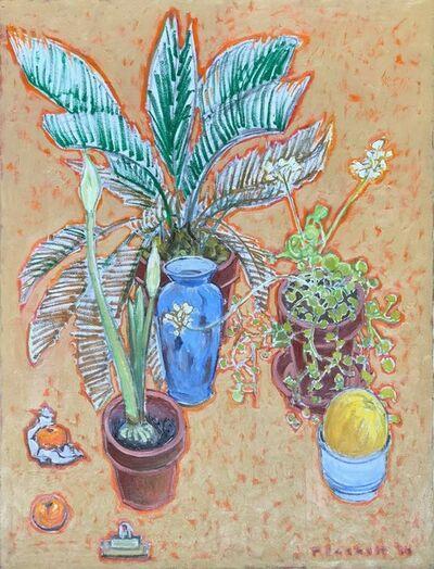 Joseph Plaskett, 'Palm, Amaryllis and Melon', 2000
