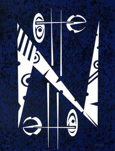 Rafael Alberti, 'Letter N', 1972