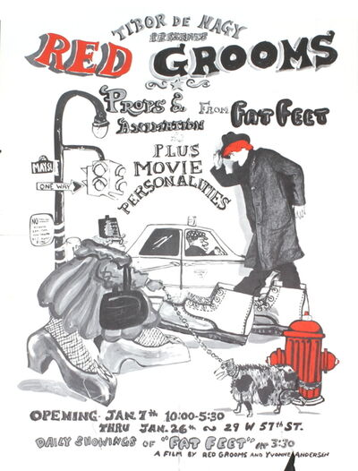 Red Grooms, 'Red Grooms', (Date unknown)