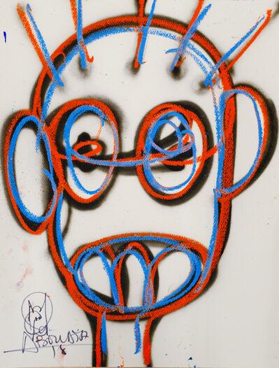 Aboudia, 'Nouchi Graffiti Enfant', 2021