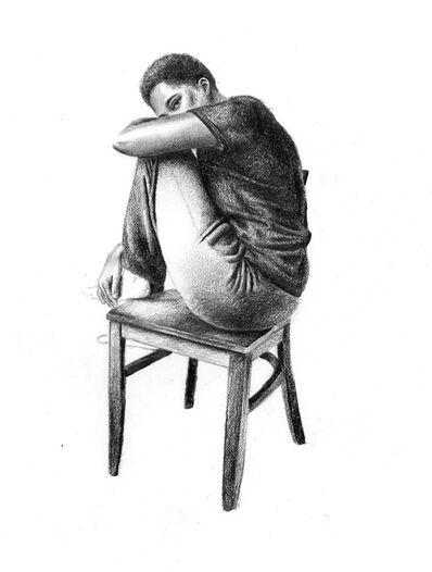 Tatyana Fazlalizadeh, 'Tanya, alone', 2020