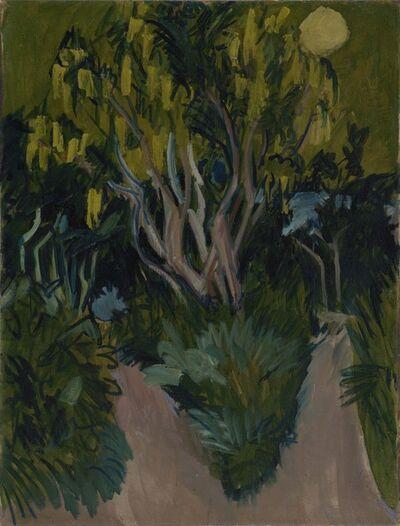 Ernst Ludwig Kirchner, 'Laburnum Tree', 1912