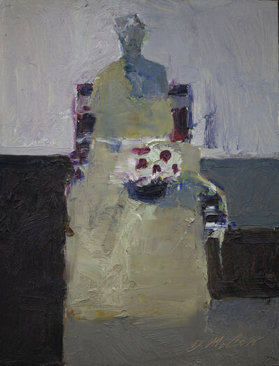 Dan McCaw, 'Figure at the Table with Flowers', 2021