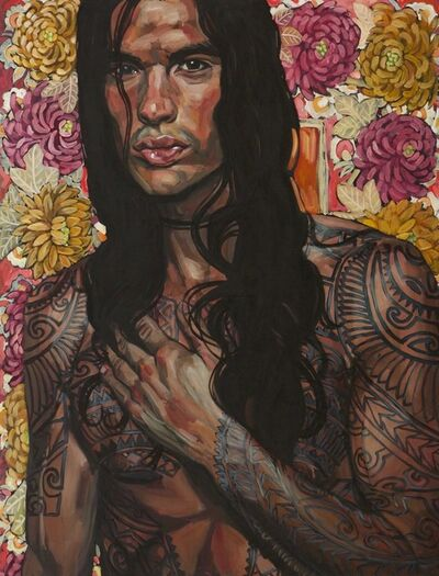 Belinda Eaton, 'Tattoo Man', 2012