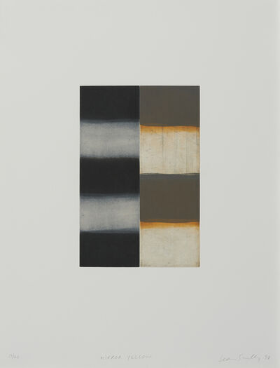 Sean Scully, 'Mirror Yellow', 1998
