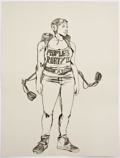 Robert Pruitt, 'People's Party II', 2014