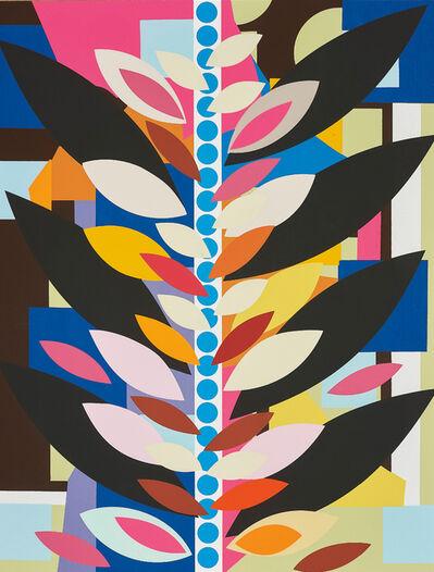 Beatriz Milhazes, 'O Passeio em Rosa e Marrom (The Ride in Pink and Brown)', 2016