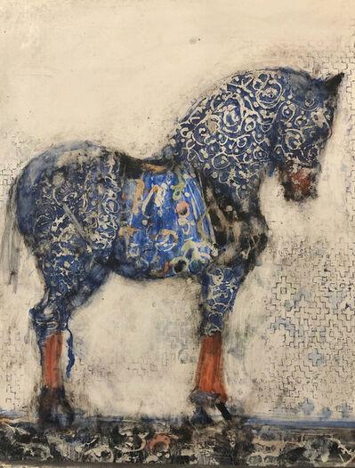 Alicia Rothman, 'Blue Persian Horse', 2019