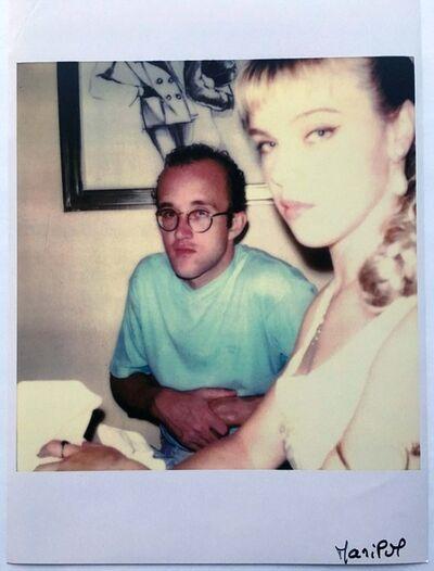 Maripol, 'Keith Haring & Debi Mazar', ca. 1985