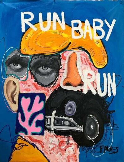 John Paul Fauves, 'RUN BABY, RUN', 2019