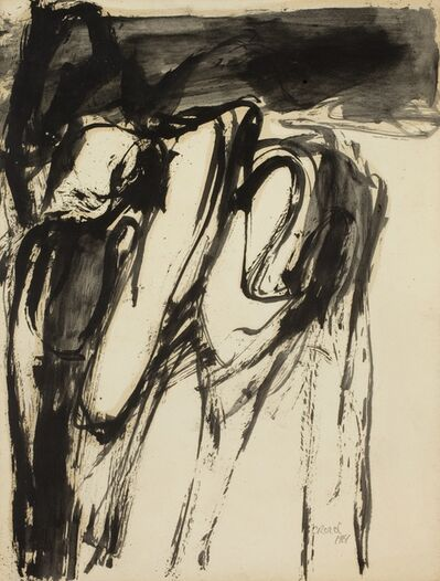 William Crozier, 'Untitled (Work on paper)', 1961