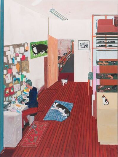 Sarah McEneaney, 'Office Work', 2015