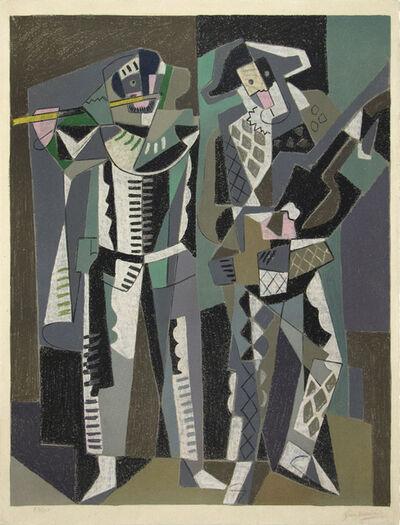 Gino Severini, 'Commedia dell'Arte', 1958