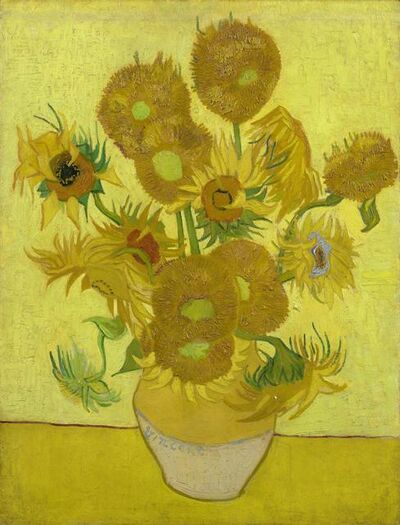 Vincent van Gogh, 'Sunflowers', 1889