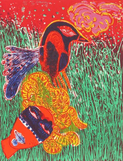 Corneille, 'La Femme masque comme pour une fete', 1977