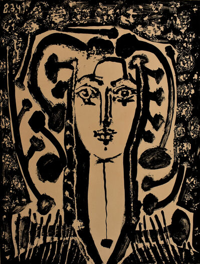 Pablo Picasso, 'Modern Style Bust (Francoise) | Buste Style Moderne', 1949