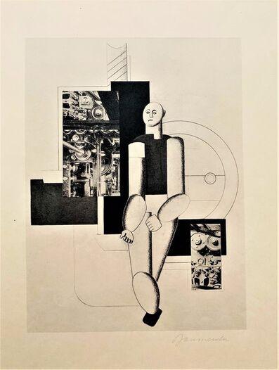 Willi Baumeister, 'Sport & Maschine', 1924