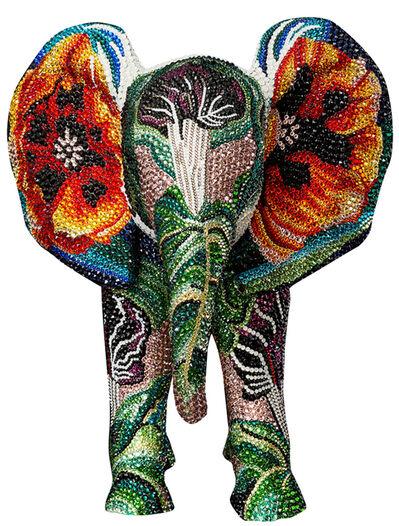 Metis Atash, 'Elephant Burning Desire', 2021