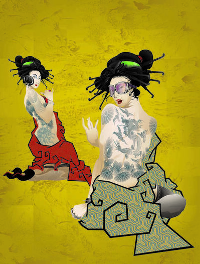 Billy Ma, 'Geisha Girls', 2013