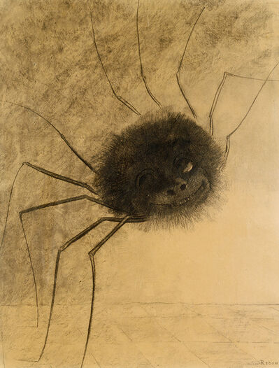Odilon Redon, 'L'Araignée souriante (The Smiling Spider)', 1881