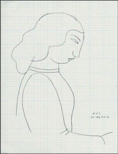 Andrew Stevovich, 'Jessie's Diner, Drawing 31', 2016