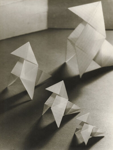 Alexis Delcroix, 'Famille de Cocottes (An Origami Family of Hen and Chicks)', 1934/1934