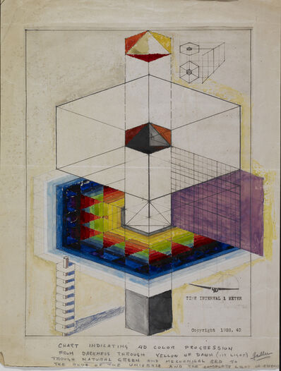 R. Buckminster Fuller, 'D Tower: Time Interval 1 Meter', 1928